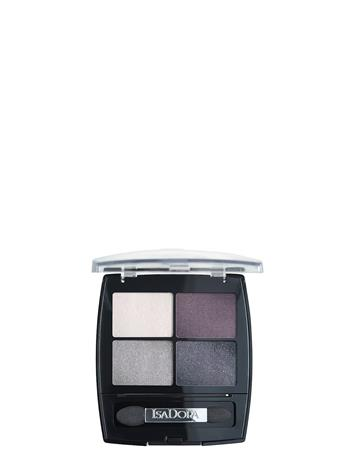 Isadora Eye Shadow Quartet 037 Crystal Mauve Beauty WOMEN Makeup Eyes Eyeshadow Palettes Monivärinen/Kuvioitu Isadora 037 CRYSTAL MAUVE, Meikit, kosmetiikka ja ihonhoito