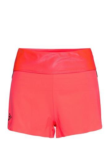 Craft Asome High Waist Shorts W Shorts Sport Shorts Vaaleanpunainen Craft PANIC