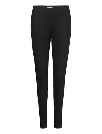 FREE/QUENT Fqlexie-Pa-Suede Leather Leggings/Housut Musta FREE/QUENT BLACK