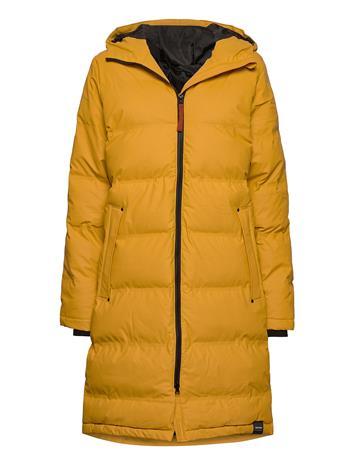 Tretorn Lumi Coat Vuorillinen Takki Topattu Takki Keltainen Tretorn 072/HARVEST