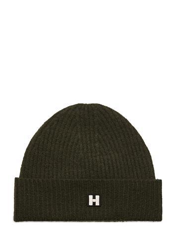 Hope H Hat Accessories Headwear Hats Vihreä Hope DK FOREST GREEN