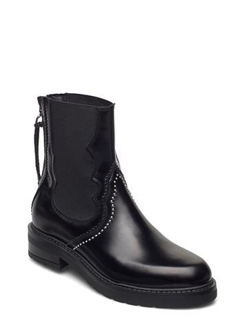 Pavement Cecilia Polido Shoes Boots Ankle Boots Ankle Boot - Flat Musta Pavement BLACK POLIDO, Naisten kengät