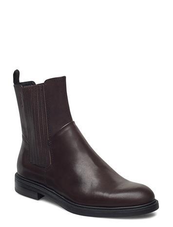 VAGABOND Amina Shoes Boots Ankle Boots Ankle Boot - Flat Ruskea VAGABOND BROWN, Naisten kengät