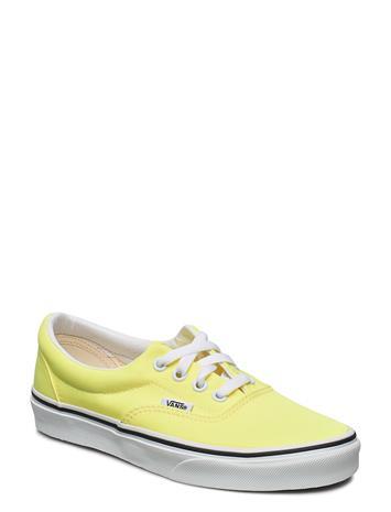 VANS Ua Era Matalavartiset Sneakerit Tennarit Keltainen VANS (NEON) LEMON TONIC/TR WHT, Naisten kengät