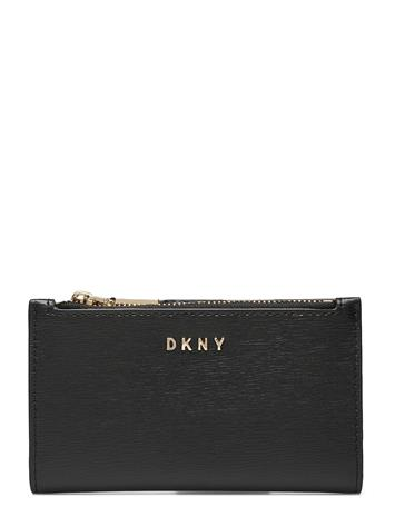 DKNY Bags Bryant-New Bifold Ca Bags Card Holders & Wallets Card Holder Musta DKNY Bags BLK/GOLD