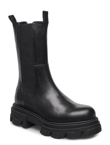 Apair Mega Chuncky Elastic Chelsea-saappaat Bootsit Musta Apair NERO, Naisten kengät