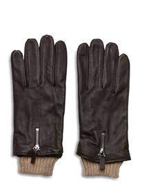 Royal RepubliQ Bond Gloves Touch Hanskat Käsineet Musta Royal RepubliQ BROWN