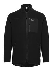 Forä©t Silence Fleece Jacket - Army Ohut Takki Musta Forä©t BLACK
