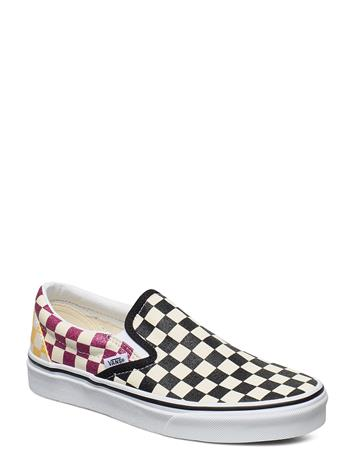 VANS Ua Classic Slip-On Tennarit Sneakerit Monivärinen/Kuvioitu VANS (GLITTER CHECK)MULTITRWHT