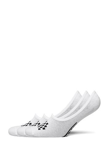 VANS Classic Canoodle 6.5-10 3pk Varrettomat Sukat Urheilusukat/Ankle Socks Valkoinen VANS WHITE/BLACK