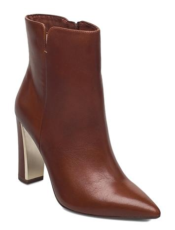 Tamaris Heart & Sole Woms Boots Shoes Boots Ankle Boots Ankle Boot - Heel Ruskea Tamaris Heart & Sole BRANDY