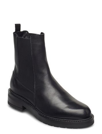 Pavement Jemma Long Wool Chelsea-saappaat Bootsit Musta Pavement BLACK GARDA