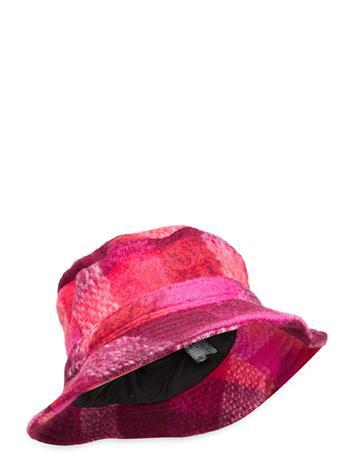 Becksöndergaard Check Woods Bucket Hat Accessories Headwear Bucket Hats Vaaleanpunainen Becksöndergaard PINK