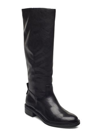 Tamaris Woms Boots Korkeavartiset Saapikkaat Musta Tamaris BLACK MATT