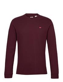 LEVI´S Men Ls Original Hm Tee Sassafras T-shirts Long-sleeved Punainen LEVI´S Men REDS
