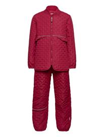 CeLaVi Thermal Set Outerwear Thermo Outerwear Thermo Sets Punainen CeLaVi RIO RED