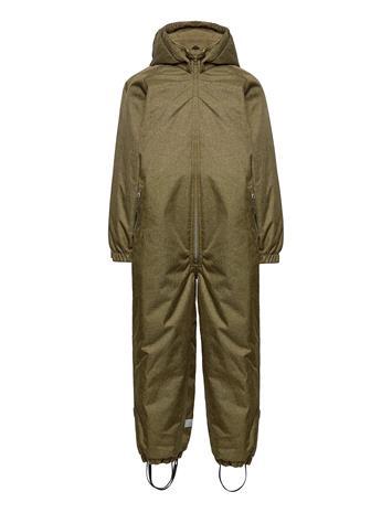 Mikk-Line Comfort Suit Outerwear Snow/ski Clothing Snow/ski Suits & Sets Vihreä Mikk-Line MILITARY OLIVE