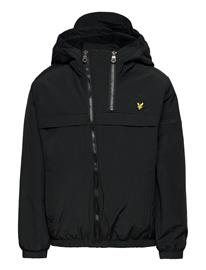 Lyle & Scott Junior Double Zip Padded Windcheater Black Toppatakki Musta Lyle & Scott Junior BLACK