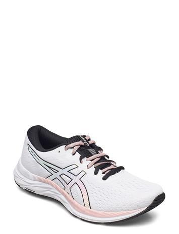 Asics Gel-Excite 7 Shoes Sport Shoes Running Shoes Valkoinen Asics WHITE/BLACK