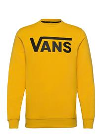 VANS Vans Classic Crew Ii Svetari Collegepaita Keltainen VANS LEMON CHROME, Miesten paidat, puserot ja neuleet