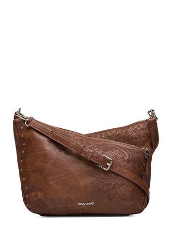 Desigual Accessories Bols Martini Harry Mini Bags Small Shoulder Bags - Crossbody Bags Ruskea Desigual Accessories MARRON OSCURO