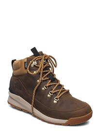 The North Face M B2b Mid Wp Shoes Sport Shoes Outdoor/hiking Shoes Ruskea The North Face UTILITY BROWN/TNF BLACK