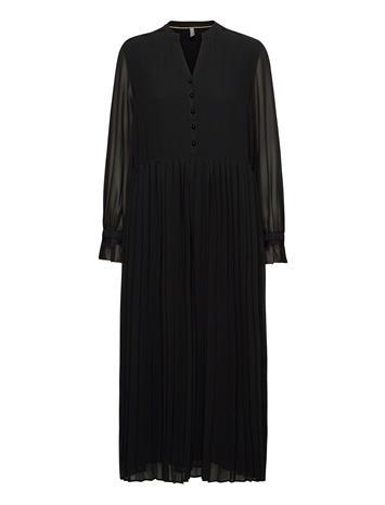 Culture Cudaphne Dress Polvipituinen Mekko Musta Culture BLACK