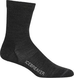 Icebreaker Lifestyle Ultra Light Crew Socks Women, jet heather