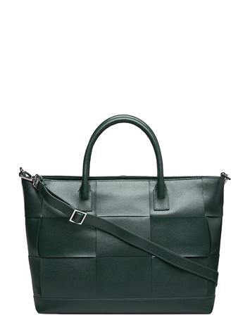 Adax Savona Shopper Trine Bags Small Shoulder Bags - Crossbody Bags Vihreä Adax GREEN