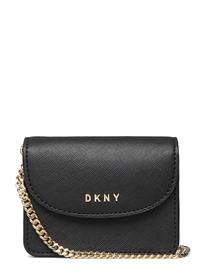 DKNY Bags Gifting Mini Flap Cb Bags Small Shoulder Bags - Crossbody Bags Musta DKNY Bags BLK/GOLD