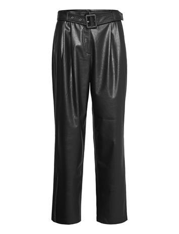 SAND Vegan Leather - Haim Leather Leggings/Housut Musta SAND BLACK