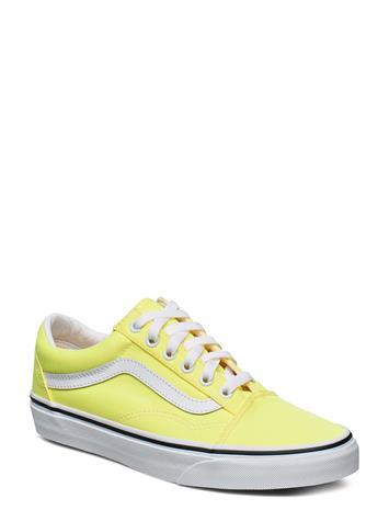 VANS Ua Old Skool Matalavartiset Sneakerit Tennarit Keltainen VANS (NEON) LEMON TONIC/TR WHT