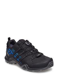 adidas Performance Terrex Swift R2 Gtx Shoes Sport Shoes Running Shoes Musta Adidas Performance CBLACK/CBLACK/BRBLUE