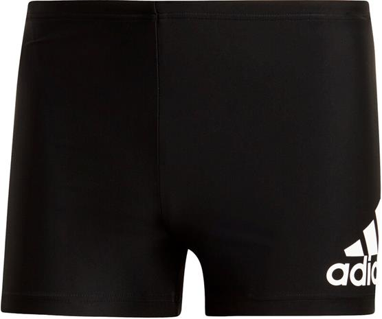 adidas Fit BOS Boxer Uimahousut Miehet, black/white