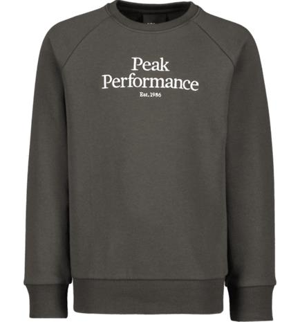 Peak Performance J ORIGINAL CREW CONIFEROUS GREEN
