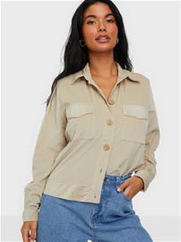 Jacqueline de Yong Jdysofi L/S Corduroy Shirt Jrs