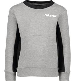 Nike K AIR CREW DK GREY HEATHER