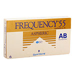 CooperVision Frequency 55 AB Aspheric (Easyvision Aspheric), kuukausikäyttöiset piilolinssit 6 kpl