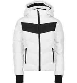 Everest J POWDER JKT WHITE/BLACK