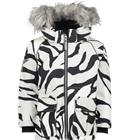 Molo K CATHY FUR JACKET GRAPHIC TIGER