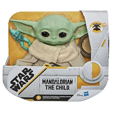 Star Wars Mandalorian The Child puhuva pehmolelu