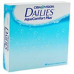 Alcon Dailies AquaComfort Plus, kertakäyttöiset piilolinssit 90 kpl