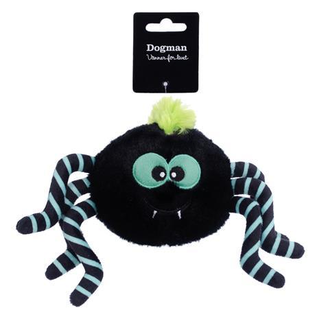 Dogman Emo Hämähäkki vihreä koiranlelu