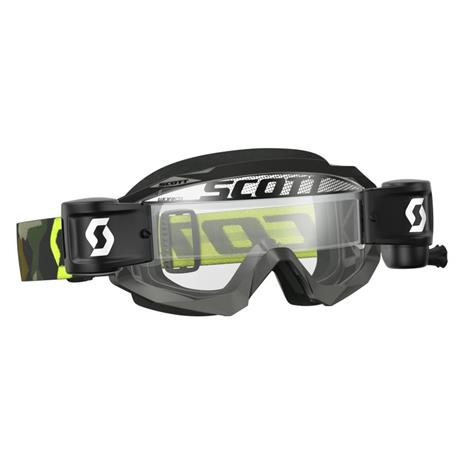 Scott Hustle MX WFS grey/fluo yellow clear works ajolasit