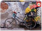 Educa Bicycle With Flowers 500p palapeli