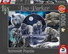 Schmidt Lisa Parker: Magnificent Wolves 1000p palapeli