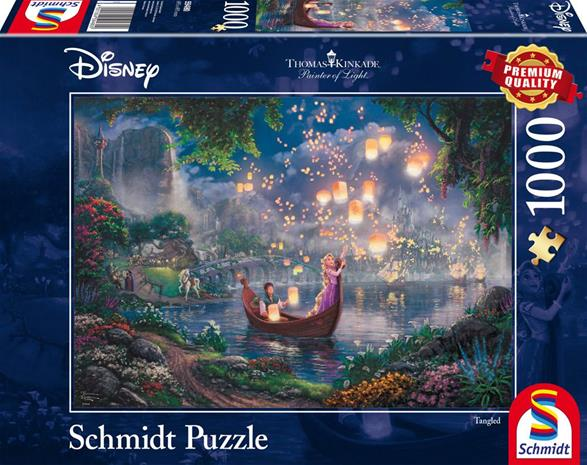 Schmidt Thomas Kinkade: Disney Rapunzel 1000p palapeli