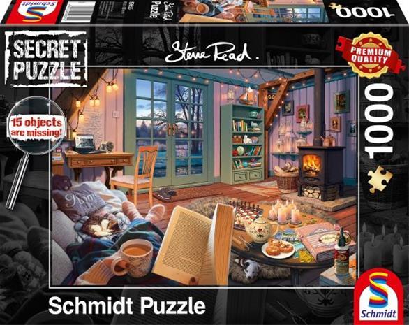 Schmidt Secret Puzzles Steve Read: In the cottage 1000p palapeli