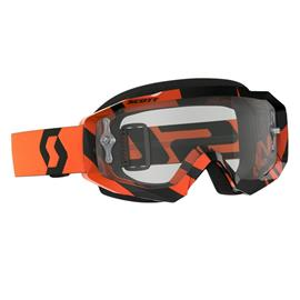 Scott Goggle Hustle MX Black / Orange Clear Works ajolasit