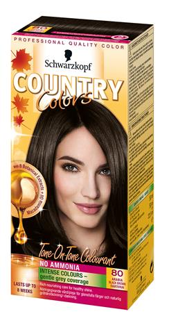 Schwarzkopf Country Colors 80 Arabia Black Brown kevytväri